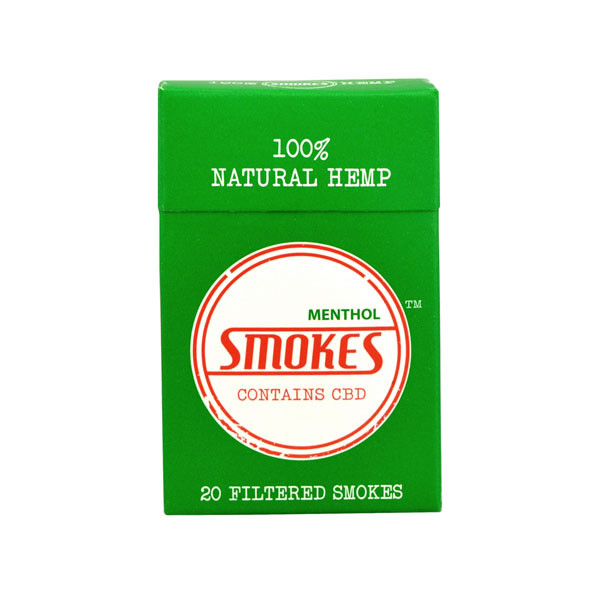 Smokes Hemp Cigarettes - Menthol Pack